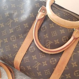 Louis Vuitton Bags - Monogram keepall Bandouliere 55